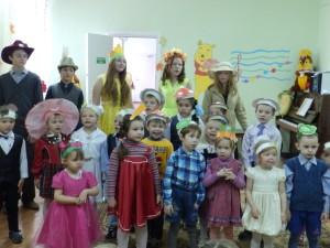 Праздник осени в дошкольных группах