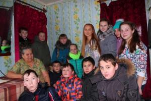 Кадеты 6 класса  МБОУ «СОШ № 6»  в выходной день  приняли участие  в патриотической акции  «Снежный десант»