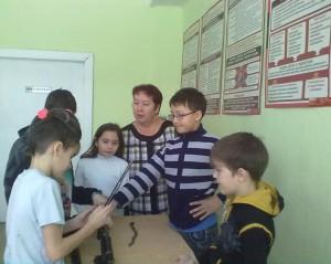 Обучающиеся 5а класса готовятся стать «настоящими» кадетами