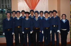 В рамках месячника оборонно-массовой и спортивной работы юнармейцы  МБОУ «СОШ № 6» заняли 1 место