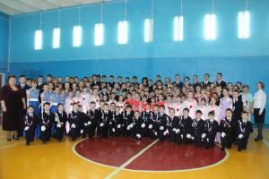 В МБОУ «СОШ № 6» прошёл третий школьный Кадетский бал, посвящённый  100-летию города Шумерля
