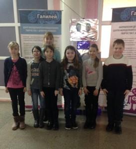 Обучающиеся 6А, 7Б и 4А классов МБОУ «СОШ №6» посетили творческую площадку «Галилей»