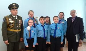 Юные космонавты  отряда «Кондор» на финале IX Молодёжных Николаевских Чтений
