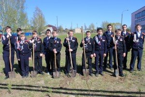 Каждую весну учащиеся МБОУ «СОШ № 6» проводят акцию «Посади дерево»