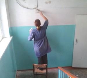 Ремонтные работы в  МБОУ «СОШ № 6» в  летний период