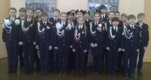 Кадеты МБОУ «СОШ № 6» стали участниками первого Всероссийского детско-юношеского военно-патриотического общественного слёта движения «ЮНАРМИЯ»