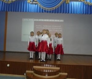 Антонова Виктория, второклассница МБОУ «СОШ №6» – призер республиканского конкурса – фестиваля  «Звучи, родное слово»