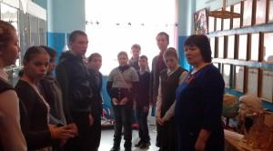 Воспитанники школы-интерната посетили музей отряда ЮК «Кондор»