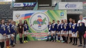 В финальном турнире Всероссийских соревнований по футболу «Кожаный мяч»  –  девушки спортивного клуба школы № 6
