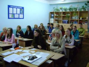 В 9 классах было проведено родительское собрания для ознакомления обучающихся и их родителей с порядком сдачи ОГЭ —  2018.