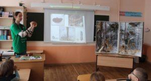 Сотрудники  заповедника «Присурский» в рамках Года экологии провели «Живые уроки»
