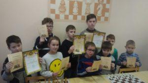 Обучающийся 6 класса МБОУ «СОШ№6» победитель детского турнира новогоднего шахматного фестиваля