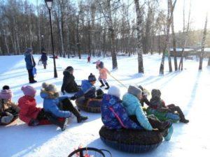 Зимние забавы четвероклашек