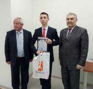 Награждение призеров и победителей конкурса «Электроника 4.0»