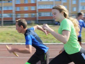 Поздравляем призеров легкоатлетической эстафеты на призы газеты «Вперед»