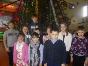 Учащиеся МБОУ «СОШ №6» на традиционной елке Главы администрации города Шумерля