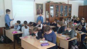 Зачетная сессия юных космонавтов в МБОУ «СОШ №6»