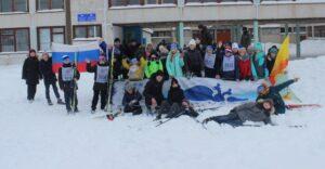 Обучающиеся МБОУ «СОШ№6» стали участниками Всероссийской массовой лыжной гонки «Лыжня России – 2019»