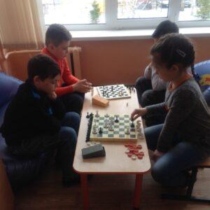 Шашечно – шахматный турнир среди учащихся 3- их классов
