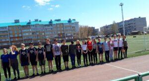 Призеры муниципального этапа школьных соревнований « Президентские состязания»