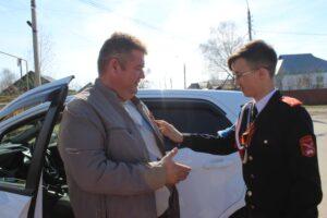Обучающиеся МБОУ «СОШ №6»  приняли участие в акции «Георгиевская ленточка. Я помню, я горжусь!»