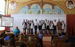 Музыкально – литературная композиция в рамках года театра и 74 годовщины Великой Победы