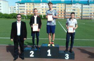 Обучающиеся школы призеры первенства  города Шумерля по легкой атлетике