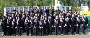 Торжественная церемония посвящения в кадеты учащихся МБОУ «СОШ №6»