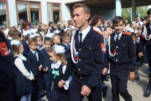 Торжественная линейка, посвящённая Дню знаний в МБОУ «СОШ № 6» г. Шумерля