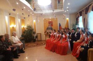 Встреча кадет 7 класса МБОУ «СОШ № 6»
