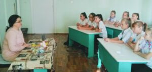 «Классная встреча» активистов с директором школы