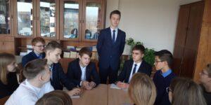 Новый командир отряда юных космонавтов