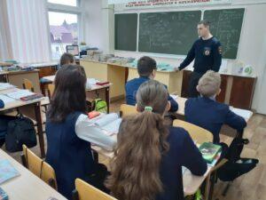 Профилактические  беседы с обучающимися 7-11 классов  МБОУ «СОШ № 6»