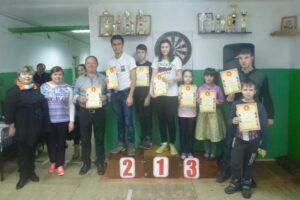 Учащиеся МБОУ «СОШ №6» в игре «Бочча»