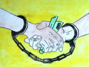 «Скажи с нами коррупции «Нет»