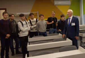 Посещение машиностроительного факультета ЧГУ им. И.Н. Ульянова