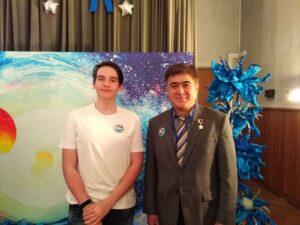 Родионов Михаил — финалист XVII международного конкурса научно-технических и художественных проектов по космонавтике «Звёздная эстафета»