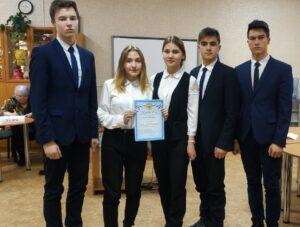 Победа старшеклассников в интеллектуальной игре «Главные сражения Великой Отечественной войны»