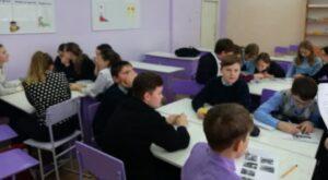 Для учащихся 7 класса прошел Урок мужества,  приуроченный ко Дню воинской славы России