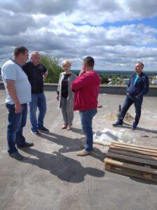 Продолжаются работы по капитальному ремонту здания МБОУ «СОШ № 6»