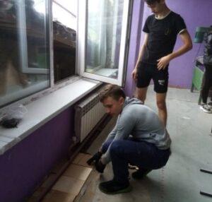 Школьная трудовая бригада «О ба – на» внесла определенный вклад в общую работу по подготовке школы