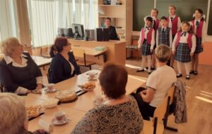 Встреча с ветеранами педагогического труда школы