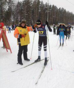Поздравляем победителя Чемпионата города по лыжным гонкам, посвященный памяти воспитанника шумерлинской спортивной школы Александра Тарлыкова